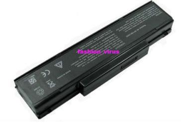 4400mah battery for MSI M662 M670 M673 M675 M677 VR600 VR600