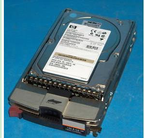HP 146.8GB 10K Fibre Channel 293556-B22 hard drive
