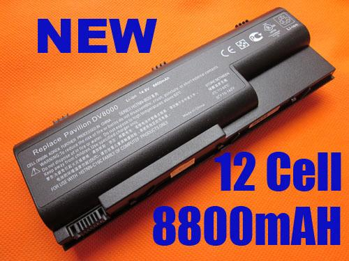 12C HP Battery DV8000 DV8100 DV8200 395789-001 EG417AA