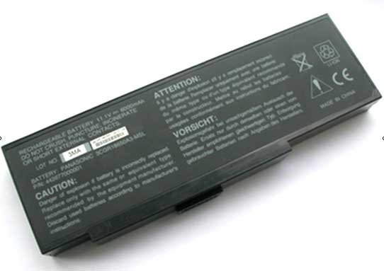 NEC Versa E680, M500 laptop battery