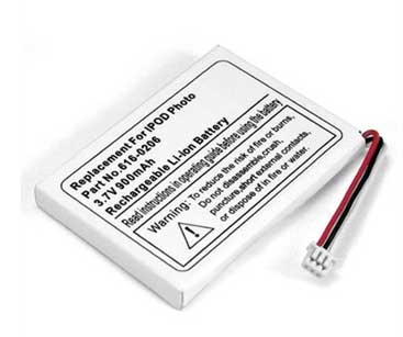 616-0206 iPod Photos MP3 Player Battery replace for APPLE