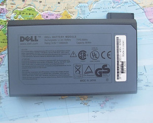 66WH Dell Inspiron 4100 4150 8000 8100 8200 laptop battery