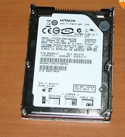 Hitachi 80GB IDE Laptop Hard Drive 5400RPM 0A28417