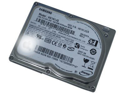 "Samsung 160GB HS161JQ 1.8"" ZIF/CEATA for iPod Classic"