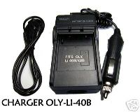 Battery Charger for Olympus Li-40B Li-42B FE-160 SP-700
