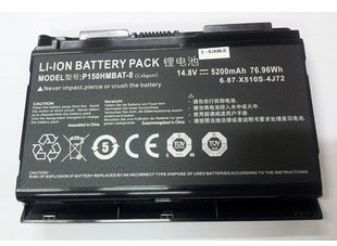 Original Battery For Clevo P170 P170HM P150HMBAT-8 5200mAh