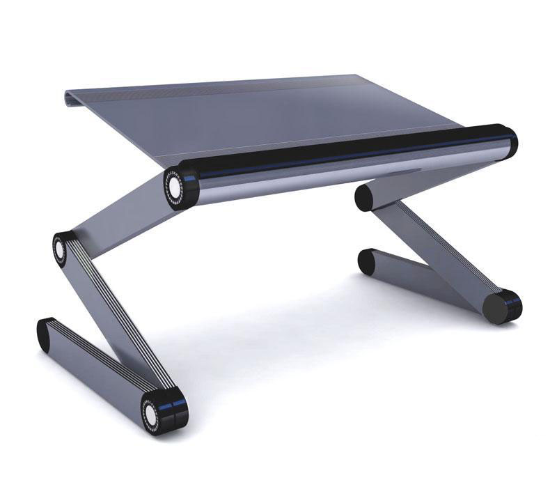 Portable fold laptop desk notebook stand bed tray table for Mesa plegable carrefour