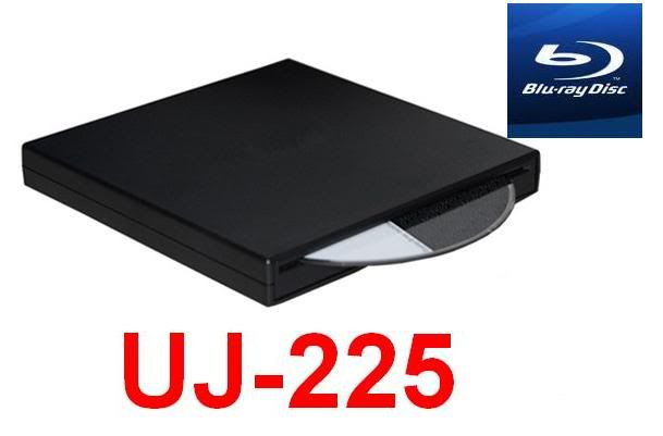 Panasonic Blu-Ray Burner USB External Slim Drive UJ-225