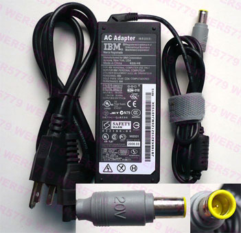 20V 3.25A 65W AC adapter for IBM Lenovo ThinkPad R60,T60,Z60
