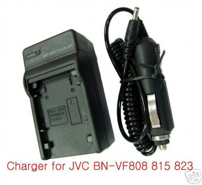 Battery Charger For JVC BN-VF808
