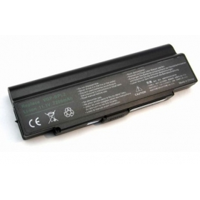 7200mAh Battery for Sony Vaio VGP-BPL2 VGP-BPS2