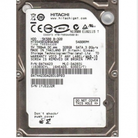 2.5inch 320 GB 5400 RPM Hitachi HTS545032B9A300 HDD