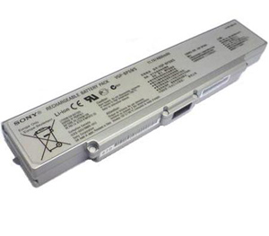 5200mah New High Quality Silver SONY VGP-BPS9 Laptop Battery